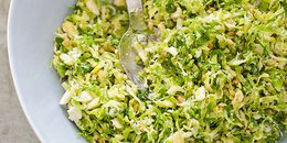 Brussels Sprout Salad with Hazelnuts
