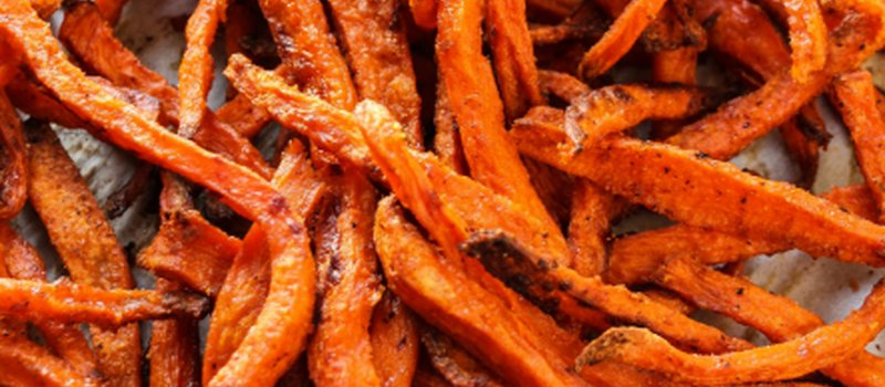 Shoestring Sweet Potato Fries