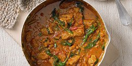 Keto Lamb Curry with Spinach - Saag Gosht