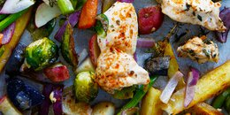 Sheet Pan Chicken & Veggie Dinner