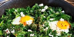 My Go-to Eggs & Greens