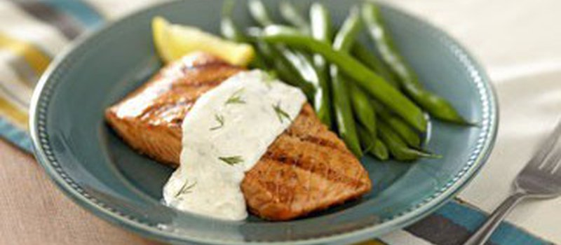 Lemon, Dill and Wheat Germ Sauce