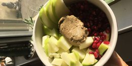 Simple Pom-Apple Protein Bowl