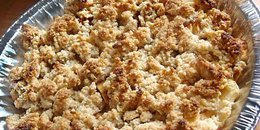 Vegan Paleo Apple Crumble