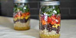Mexican Salad in a Jar