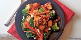 Chili Ginger Vegetable & Tofu Stir Fry