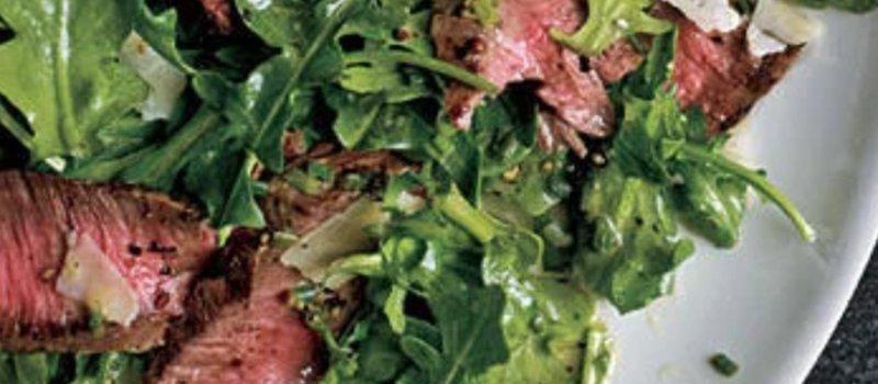 Sirloin Steak with Rocket & Balsamic