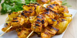 Spicy Moroccan Chicken Skewers