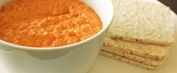 Red Pepper Dip (Muhammara)