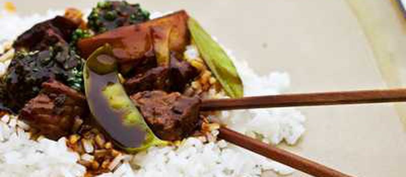 Stir-Fried Beef with Balsam-Pear
