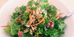 Fresh Kale and Slaw Salad