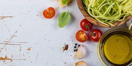 Zucchini Noodles with Easy Tomato Sauce