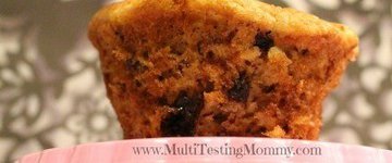Low Sugar Banana Muffins