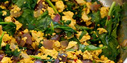 Curried Tofu Scramble
