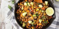 Quinoa and Black Beans Feast