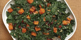 Butternut Squash, Kale & Dried Cranberries Delight