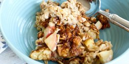 . Apple Cinnamon Baked Oatmeal