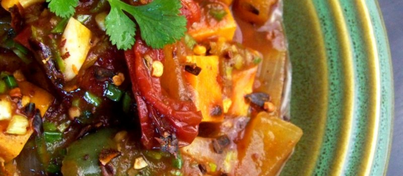 Oven Baked Vegetable Stew