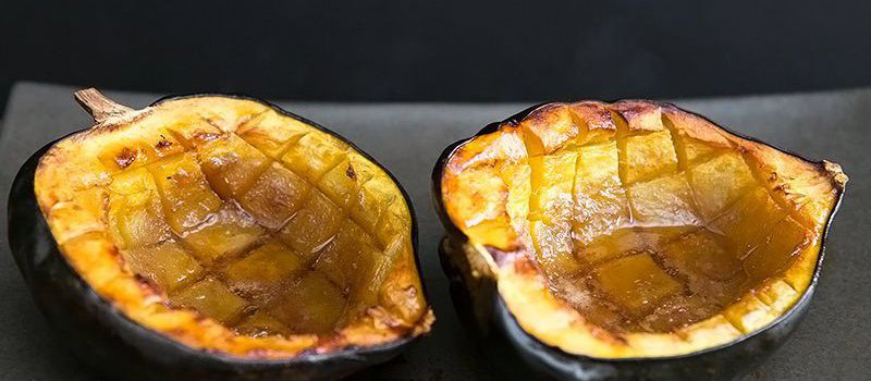 Clean Eating Roasted Acorn Squash