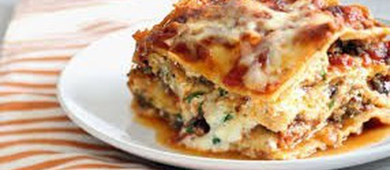 Vegetable Chicken Lasagna