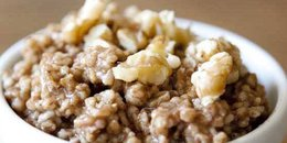 Clean Eating Gingerbread Oatmeal