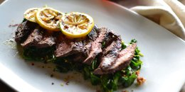Herb-Buttered Steak & Spinach (Bulletproof)