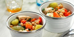 Chunky Chicken, Vegetable & Rosemary Stew