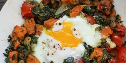 Rustic Sweet Potato Hash