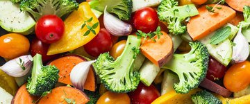 Rainbow Roasted Vegetables