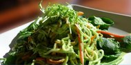 Zucchini Pad Thai With Citrus Ginger Dressing