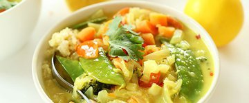 Coconut Curried Veggies