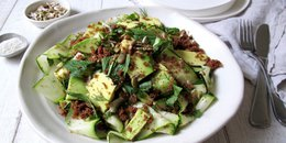 Teff and Zucchini Salad