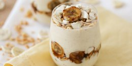 Banana Peanut Butter Protein Pudding