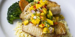 EASY Pineapple Salsa Cat Fish Fillets