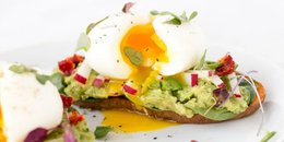 Sweet Potato Toast with Soft Boiled Eggs ( Copy )