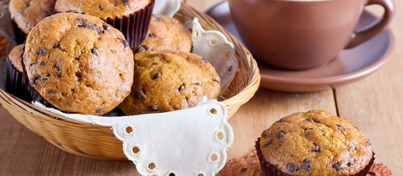Pumpkin, Chocolate and Cheddar Muffins