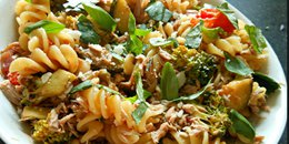 Pasta with Vegetarian Bolognese Sauce