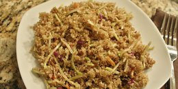 Cabbage Fried Quinoa