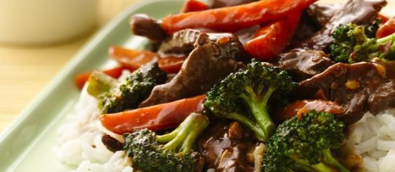 Beef & Vegetable Stir Fry
