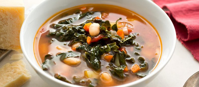 Hearty Kale and Soy Soup