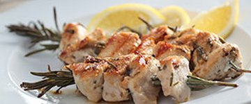 Chicken and Rosemary Kebabs