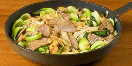 Stir-Fried Beef and Mung Beans ( Copy )