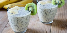 Banana Cream Chia Pudding