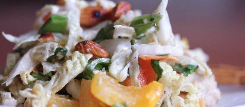 Asian Shredded Chicken Salad If Adrenal