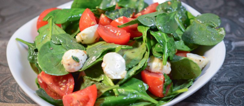 Fresh Simple Spinach Salad