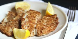 Almond Crusted Baked Cod ( Copy )