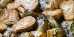 Maple-Dijon Roasted Brussel Sprouts