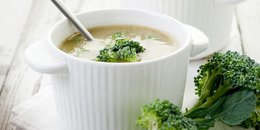EASY Broccoli Parmesan Soup