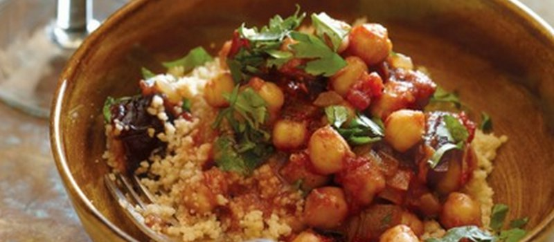 Tagine of Chickpeas