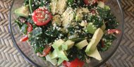 Herbal Kale Salad (vegan keto)